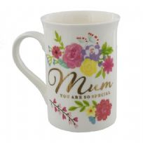 Juliana Blooming Lovely Floral & Gold Mug - Mum